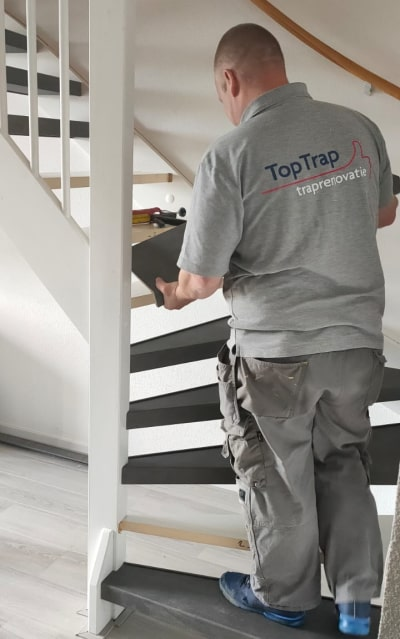 Nr. 1 in trappen renoveren
