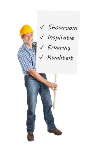 Showroom traprenovatie in Purmerend
