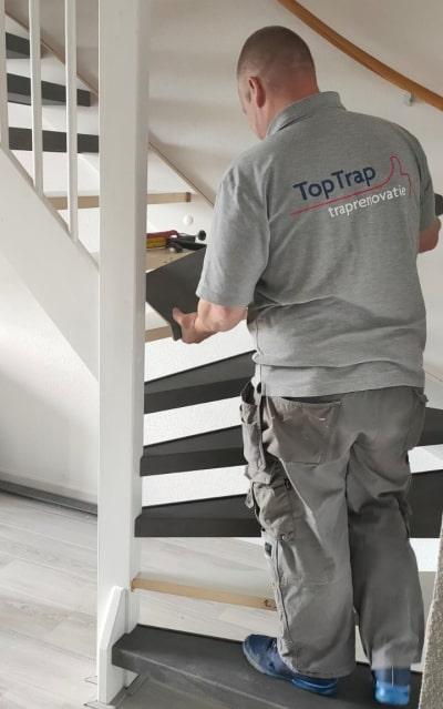 Specialist in trappen afwerken